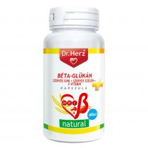 DR Herz Béta-Glükán+Szerves Zn+Se+C-vitamin 60 db kapszula