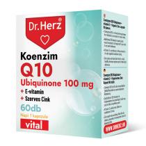DR Herz Koenzim Q10 100 mg 60 db kapszula doboz