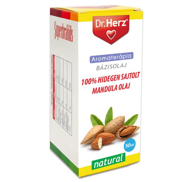 DR Herz Mandulaolaj 100% hidegen sajtolt 50ml