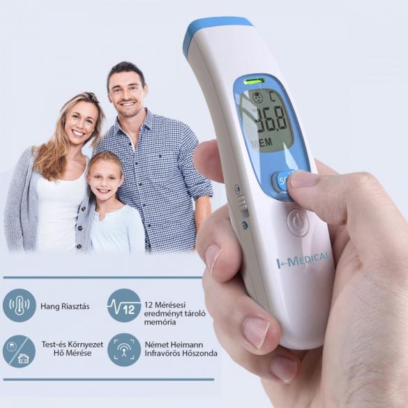 I-Medical NON CONTACT érintés nélküli hőmérő