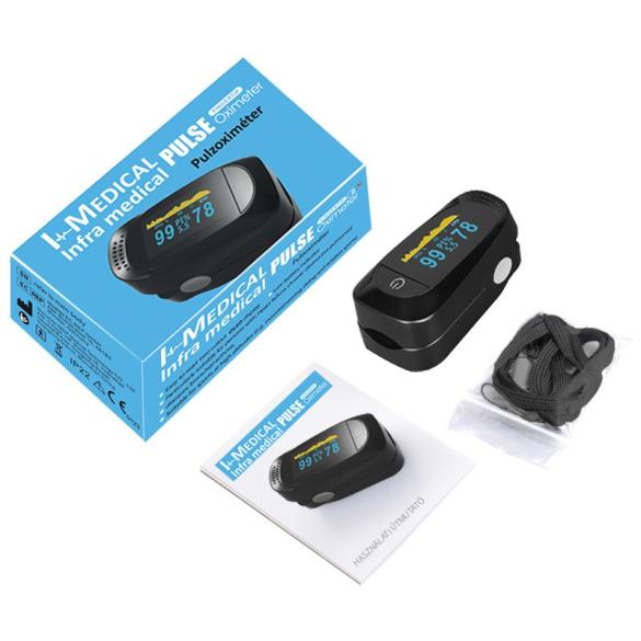 I-Medical Professzionális véroxigénmérő és pulzusmérő OLED kijelzővel