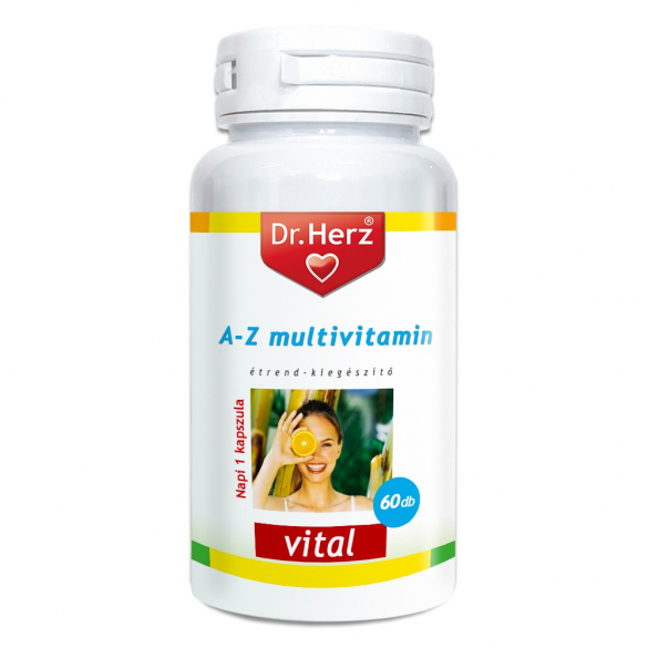 DR Herz A-Z Multivitamin 60 db kapszula