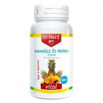 DR Herz Ananász Papaya 60 db kapszula