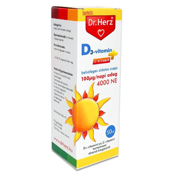 DR Herz D-vitamin csepp 50ml