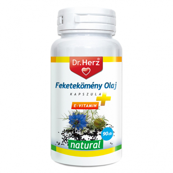 DR Herz Feketekömény olaj 500mg 90db lágyzselatin kapszula
