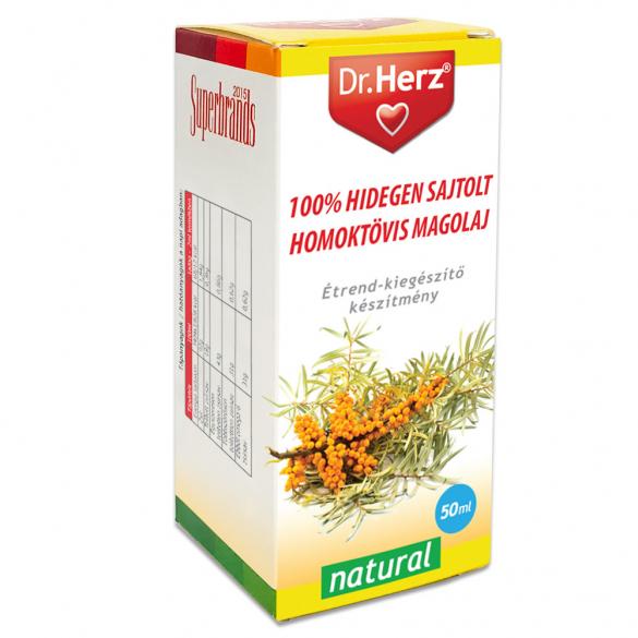 DR Herz Homoktövismag olaj 100% hidegen sajtolt 50ml