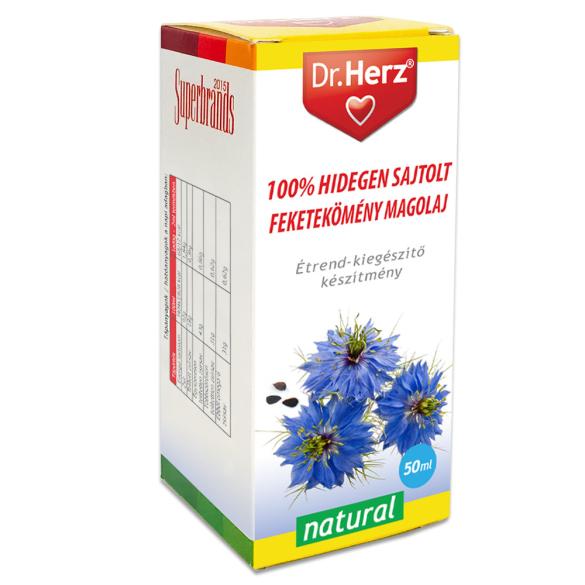 DR Herz Feketekömény magolaj 100% hidegen sajtolt 50ml