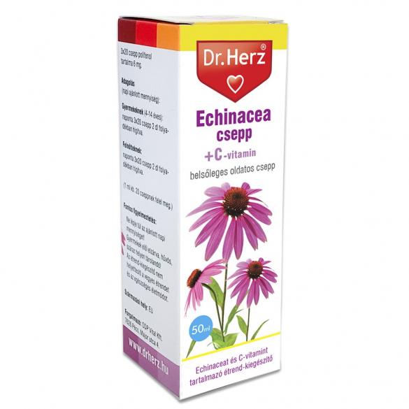DR Herz Echinacea csepp C-vitaminnal 50ml