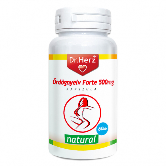 "DR Herz Glücomannán ""Ördögnyelv"" Forte 500 mg kapszula 60 db"