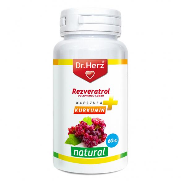 DR Herz Resveratrol kapszula 60db