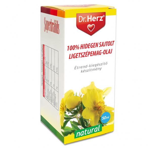 DR Herz Ligetszépe magolaj 100% hidegen sajtolt 50ml