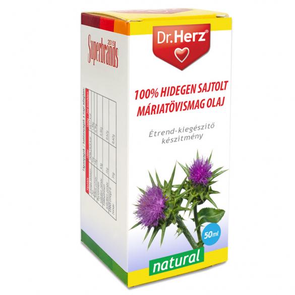 DR Herz Máriatövismag olaj 100% hidegen sajtolt 50ml