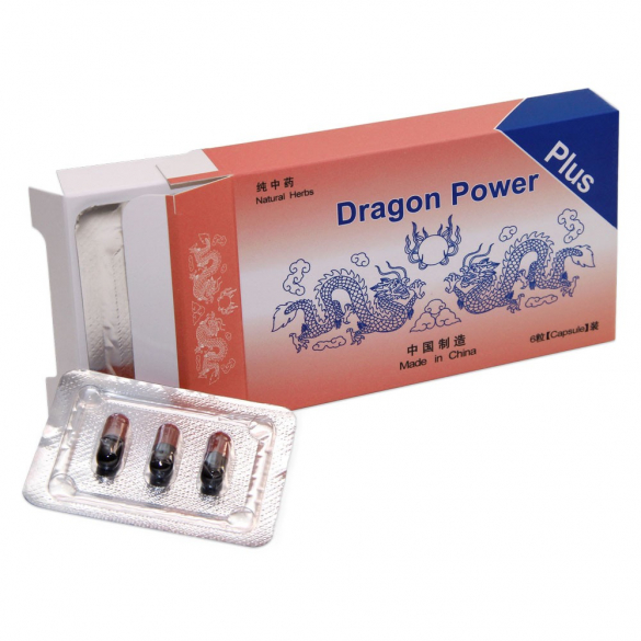 Dragon Power Plus 6 db kapszula